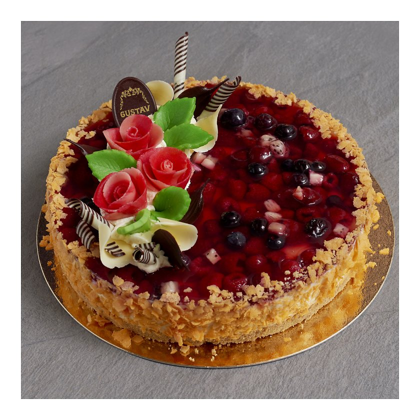 5b7da76f32d Valge šokolaadi toorjuustu tort 2kg - Tordid - Peolauatooted  (ettetellimine) - Gurmee