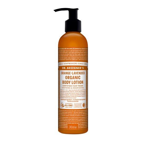 Orgaaniline kehapiim apelsini-lavendliga 237ml