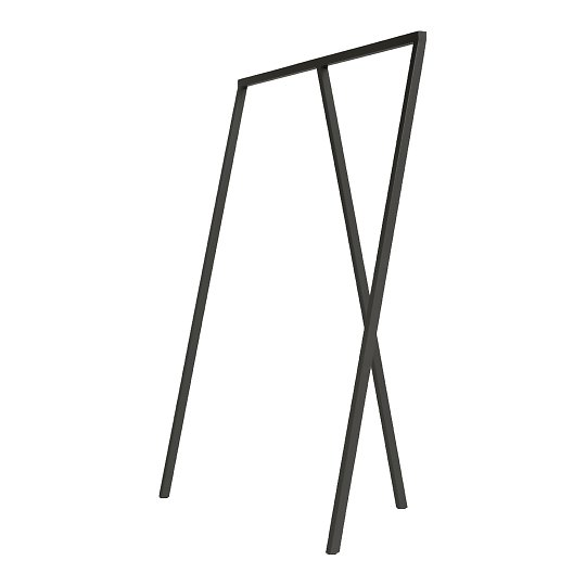 Nagi Loop Stand Wardrobe black