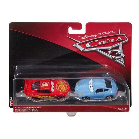 Cars 3 automudelite 2-pakk