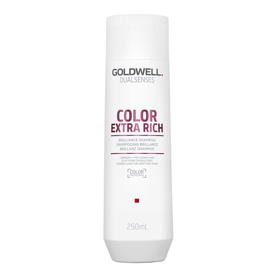 Dualsenses Color Extra Rich Brilliance Shampoo läiget andev shampoon paksematele juustele 250ml