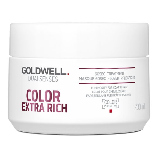 Dualsenses Color Extra Rich 60 Sec Treatment intensiivmask värvitud paksematele juustele 200ml