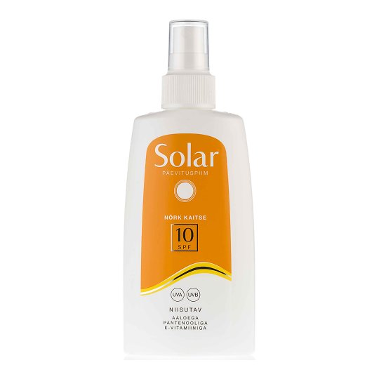 Solar päevituspiim SPF 10