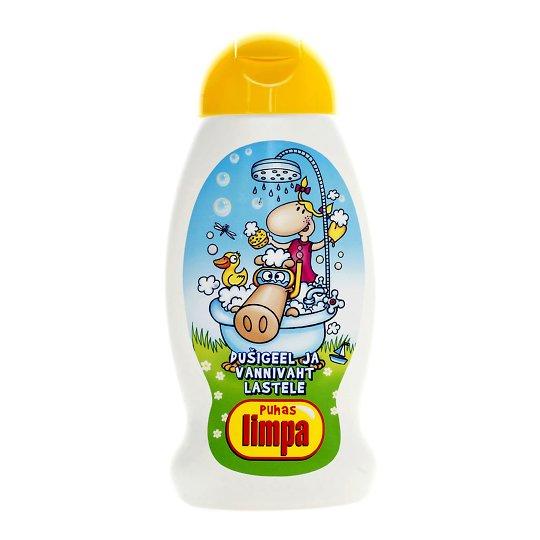 Limpa dušigeel ja vannivaht lastele 300ml