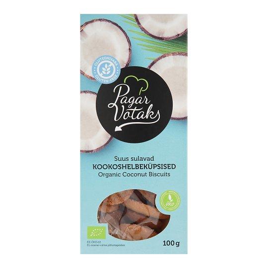 Kookoshelbe küpsised 100g Pagar Võtaks