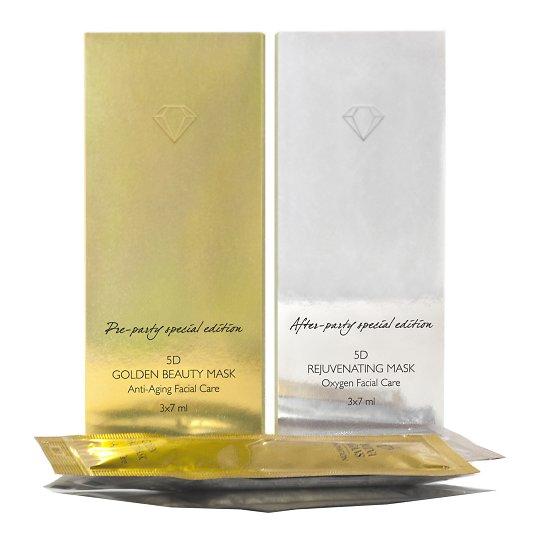 5D Golden Beauty kinkekomplekt