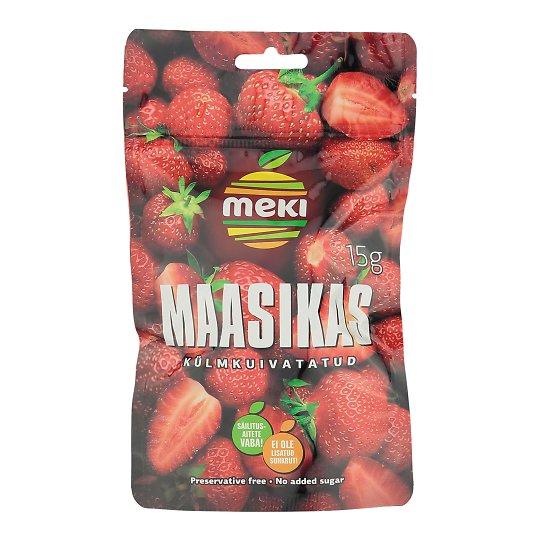 Külmkuivatatud maasikad 15g Meki