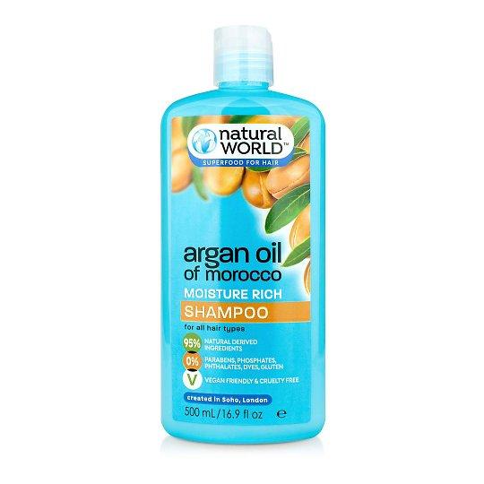 Argaania sügavalt niisutav šampoon 500ml