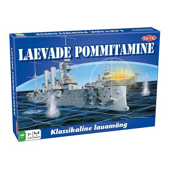 """Lauamäng """"Laevade pommitamine"""""""